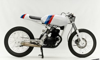 "La Honda CB 125 TT ""RS"" by Steel Bent Customs - mini4temps.fr"
