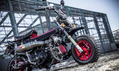 """Un Honda Dax """"CT 110 Turbo"""" - mini4temps.fr"""