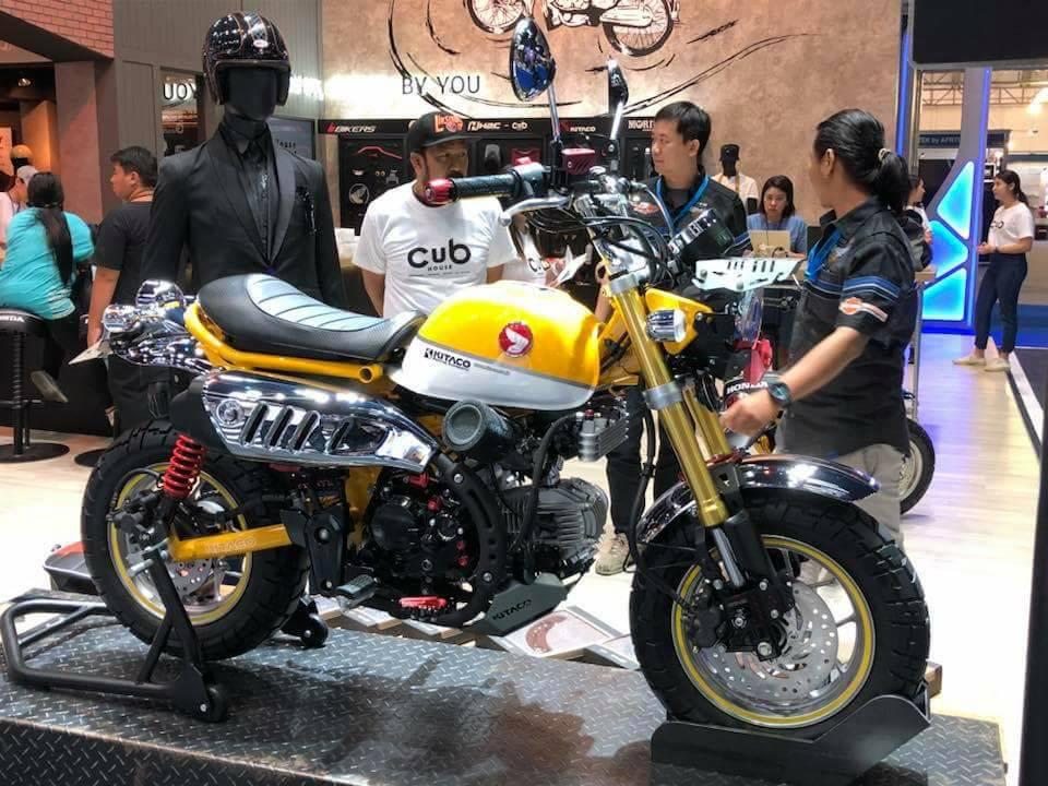 Honda Monkey 125 2018 by Kitaco - mini4temps.fr