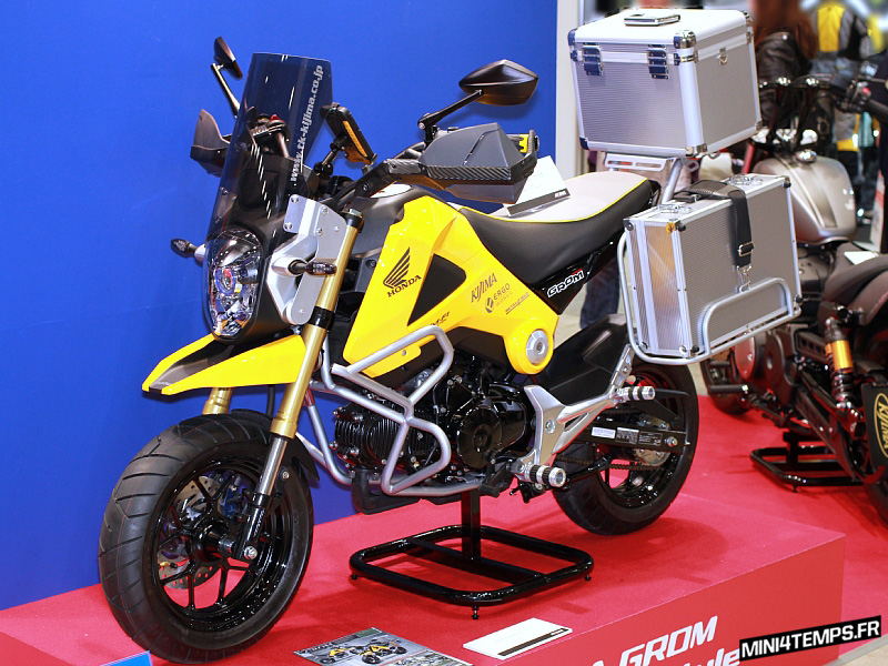 Honda MSX 125 Adventure Style by Kijima - mini4temps.fr