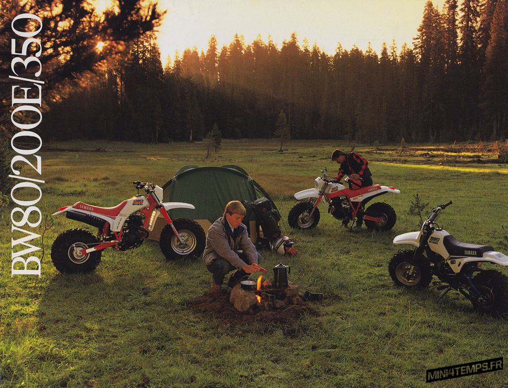 Yamaha BW80 Big Wheels - mini4temps.fr