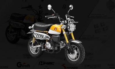 Customisation online du Honda Monkey 125 2018 - mini4temps.fr