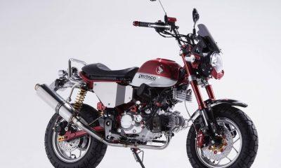 Le Honda Monkey 125 de Kitaco en détails - mini4temps.fr