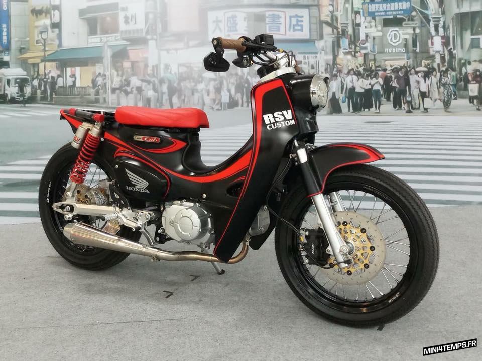 Des Honda Cub custom made in Japan - mini4temps.fr