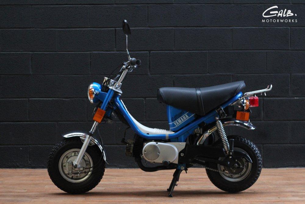 A vendre : Yamaha Chappy by Galb Motorworks - mini4temps.fr