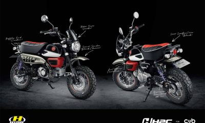 Des pièces H2C pour le Honda Monkey 125 2018 - mini4temps.fr