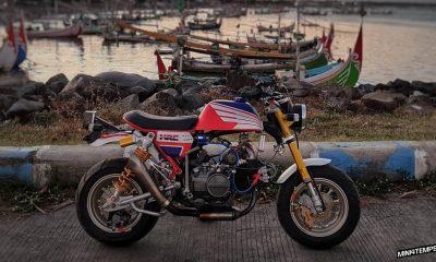 Honda Monkey HRC by Sandy Wei - mini4temps.fr