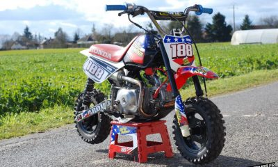 A VENDRE : Le Honda Monkey Z50R de Junior Dunor - mini4temps.fr