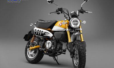 Tyga propose des commandes reculées et des leviers pour le Honda Monkey 125 - mini4temps.fr