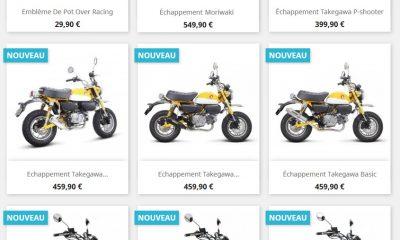 Monkey Tuning, le shop pour les parts de votre Monkey 125 ! - mini4temps.fr