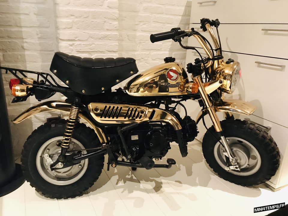 Le Honda Monkey Gold Limited Edition de 1996 - mini4temps.fr