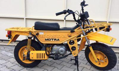 A VENDRE : Honda Motra jaune - mini4temps.fr
