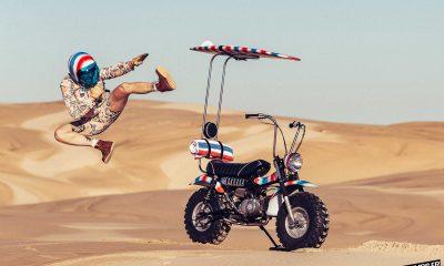 "Le Suzuki RV 90 ""Goof Bike"" de Paul Mcneil - mini4temps.fr"