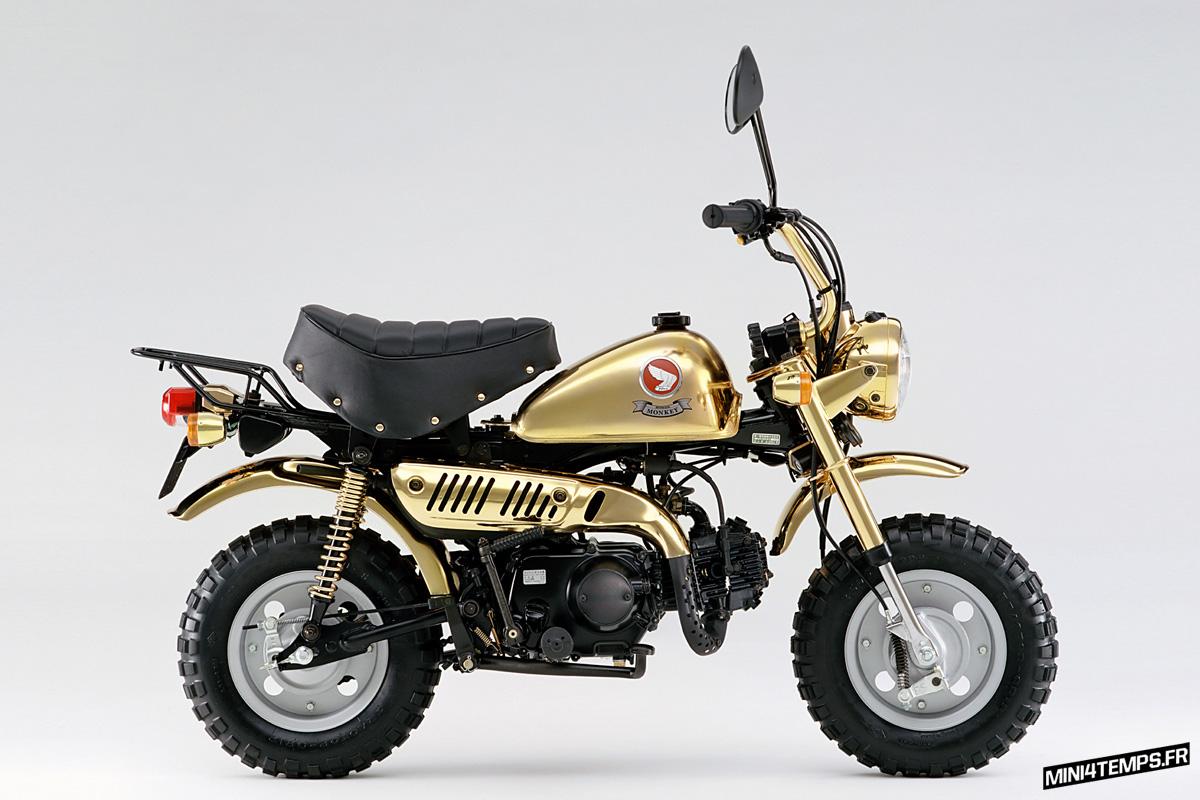 Honda Monkey Gold Limited Edition 1996 - mini4temps.fr