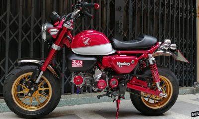 Le Honda Monkey 125 de Panya - mini4temps.fr