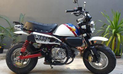 "Le Honda Monkey 125 ""FTR Edition"" de Namwan - mini4temps.fr"