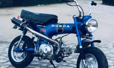 Le Honda Dax ST50 de Bernard - mini4temps.fr