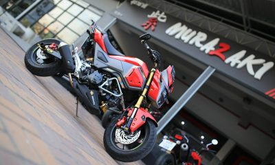 Honda MSX 125 SF de Murazaki Shop - mini4temps.fr