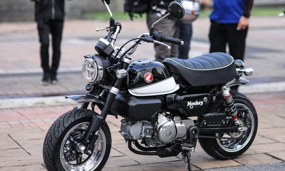 Le Honda Monkey 125 de X-Paint Shop et Dios Design - mini4temps.fr