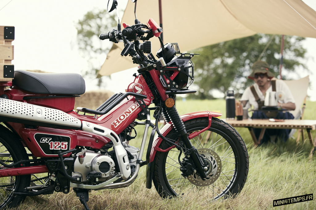 Honda CT125 2020 Farm Campster by Cub House - mini4temps.fr