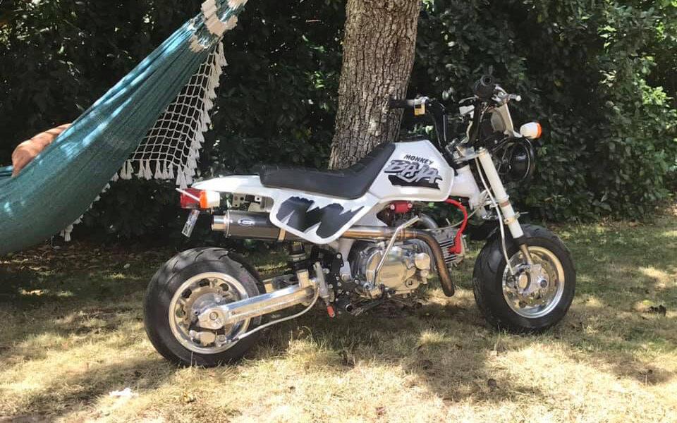Honda Monkey Baja 138 SOHC Facto - mini4temps.fr