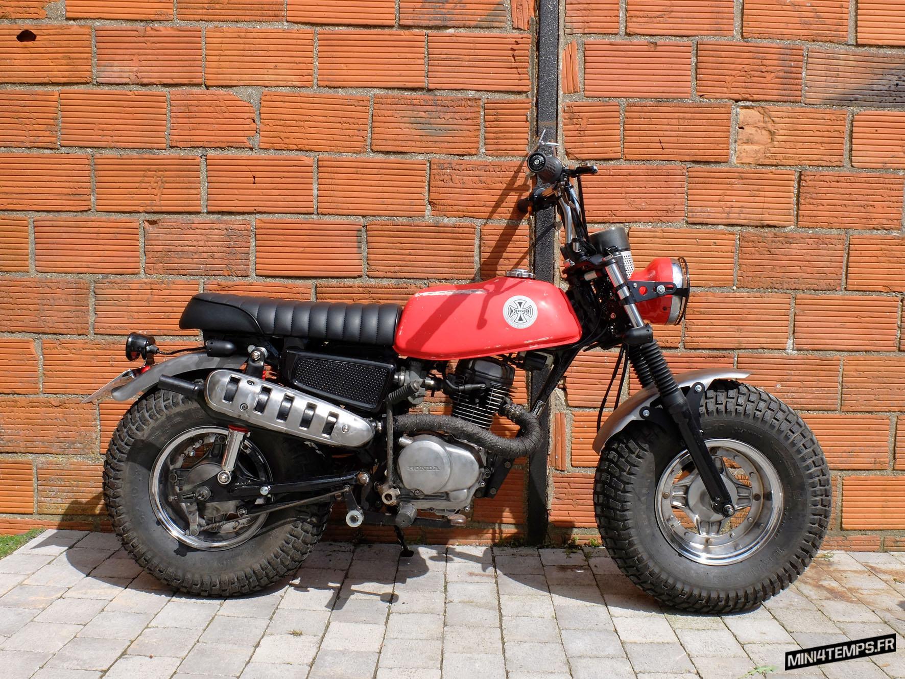 Le Honda CY80 de 1979 de EDA - mini4temps.fr