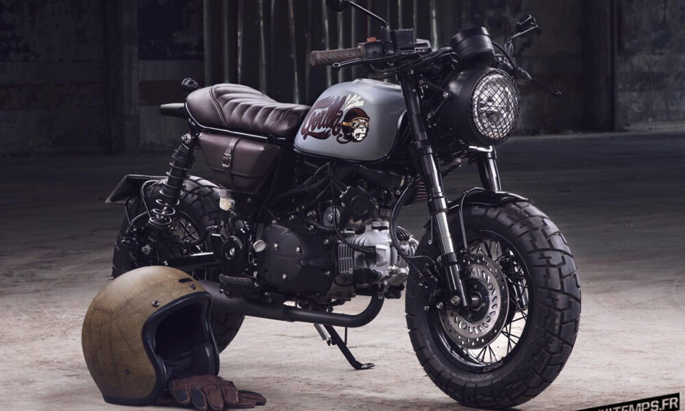 "Le Honda Monkey 125 ""Gorilla"" de Bunker Custom Cycles | Mini4Temps.fr"