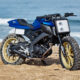 La Yamaha MT-125 tracker de Kingston Custom - mini4temps.fr
